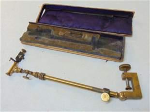 Camera Lucida, brass adjustable optical prism sketching