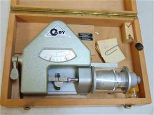 Cary Le Locle precision watch instrument in case.