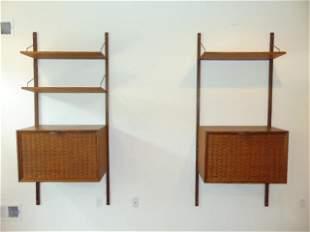 "Mid Century wall unit, Frankart Furniture Inc. ""Royal"