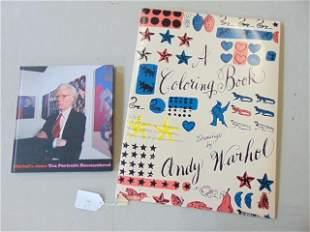"Andy Warhol coloring book & book, ""Warhol's Jews, Ten"