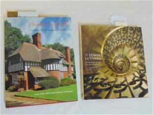 "2 Books, Architecture & Design including: ""Sir Edwin"