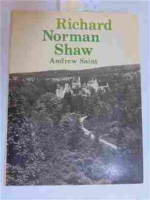 """Book, Architecture, """"Richard Norman Shaw"""" by Andrew"""
