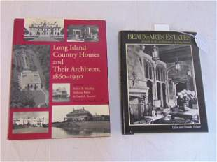 2 Books, Architecture in Long Island including: