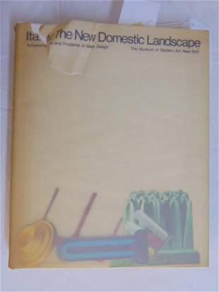 """Book, Italian Design in MoMa, """"Italy: The New Domestic"""