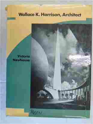 "Book, Architect Wallace K. Harrison, ""Wallace K."