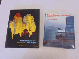 """2 Books, Architecture and Design Including: """"The"""