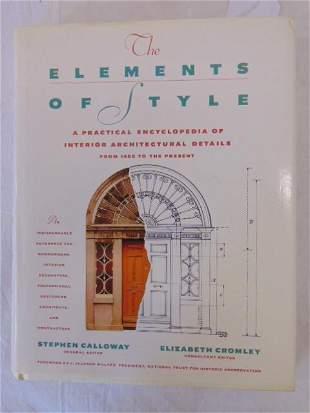 "Book, Interior Architectural Design, ""The Elements of"