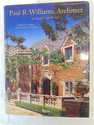 """Book, Architecture Paul. R Williams, """"Paul R. Williams,"""