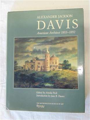 Book, Alexander Jackson Davis (Architecture),