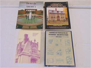 """4 Books, American architecture including: """"Richard"""