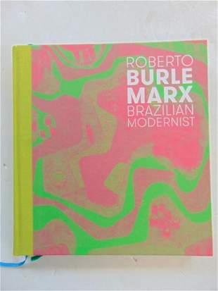 "Book, Architect and designer Burle Marx: ""Roberto Burle"