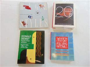 """4 Books, Architecture and design, including: """"High"""