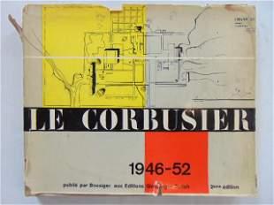 """Book, Le Corbusier architect: """"Le Corbusier: 1946-52"""""""