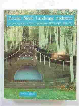 "Book, Architect Fletcher Steele: ""Fletcher Steele,"