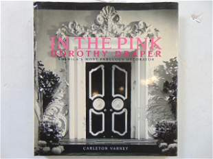 """Book, Decorator Dorothy Draper: """"In the Pink: Dorothy"""