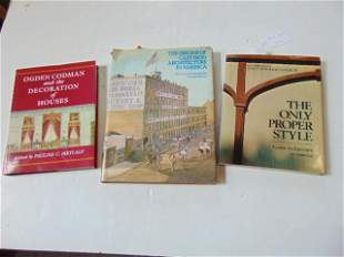 """3 Books, Architecture & Design including: """"The Only"""