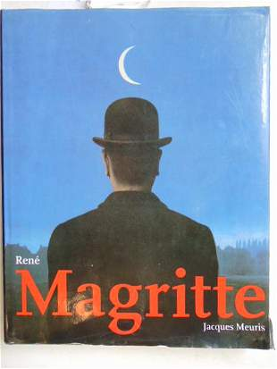 """Book, Artist Magritte: """"Rene Magritte"""" by Jacques"""