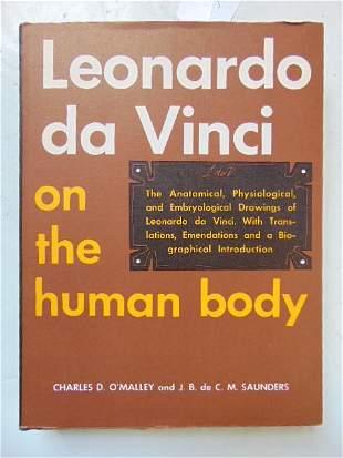 "Book, Artist Da Vinci: ""Leonardo Da Vinci on the Human"