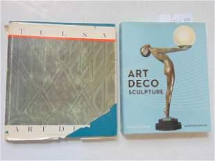 "2 Books, Art Deco including: ""Art Deco Sculpture"" by"