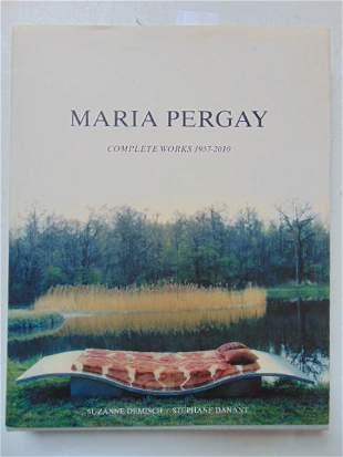 """Book, Artist Pergay: """"Maria Pergay"""" by Suzanne Demisch"""