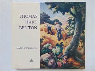 "Book, artist Benton: ""Thomas Hart Benton"" by Matthew"