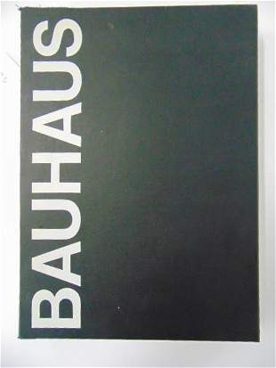 "Book, illustrated Bauhaus movement: ""The Bauhaus"" by"