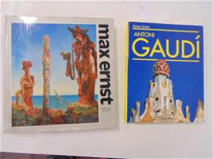 """2 Books, Artists and Architects including: """"Max Ernst"""""""