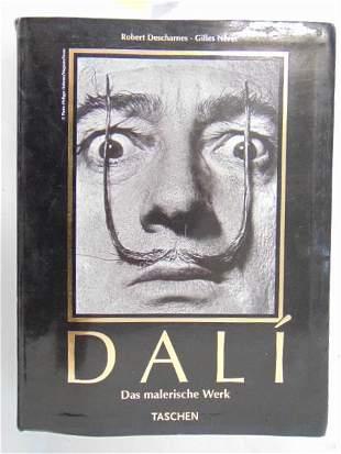 """Book, Artist Salvador Dali: """"Dali: Das Malerische Werk"""""""