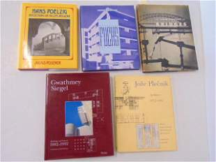 """5 Books, Art and Architecture, including: """"The"""