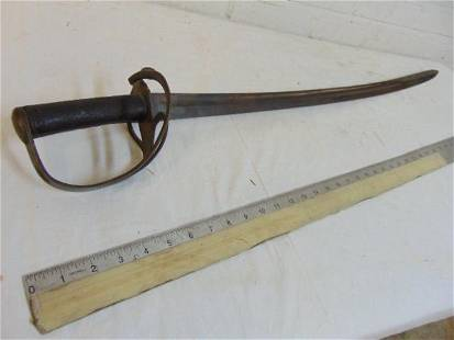 Sword, Robert Mole, civil War Confederate, blade is