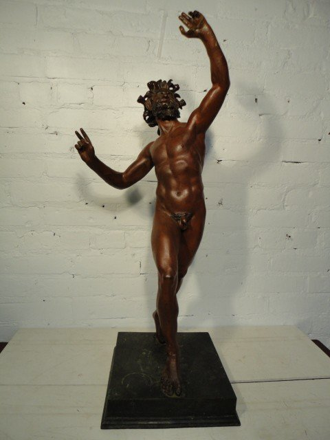 4: Bronze dancing faun of Pompeii
