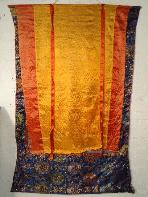 7: Silk & painted Thangka.