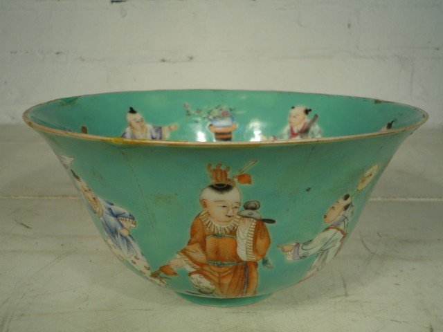 10: Chinese bowl with figures