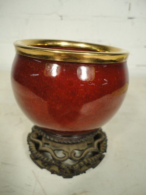 21: Small ceramic bowl.
