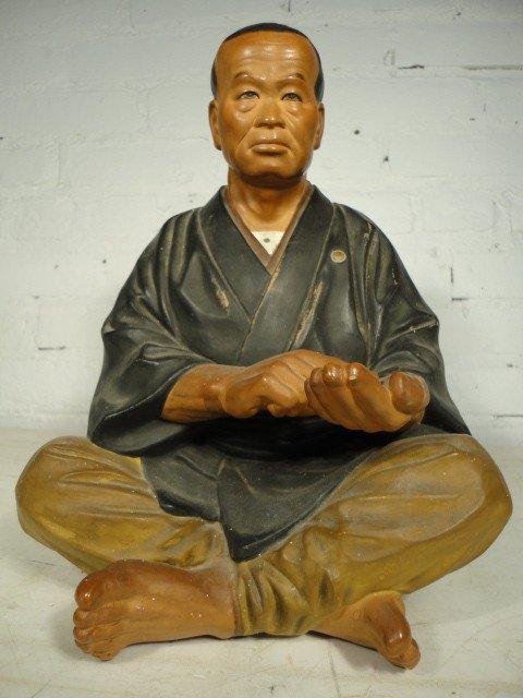 22: Modern mud figure, Japanese man.