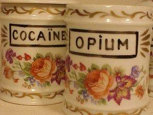 127: Opium, Cocaine & Arsenic apothecary jars - 2