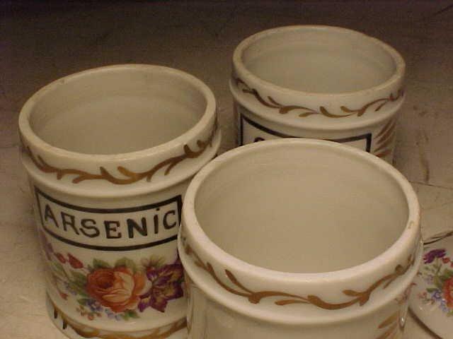 127: Opium, Cocaine & Arsenic apothecary jars - 6