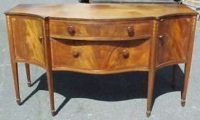 Period Inlaid Hepplewhite Sideboard