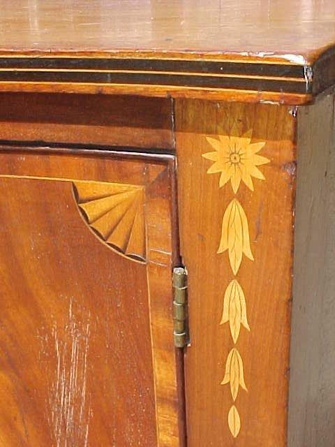 115: Period inlaid Hepplewhite sideboard - 4