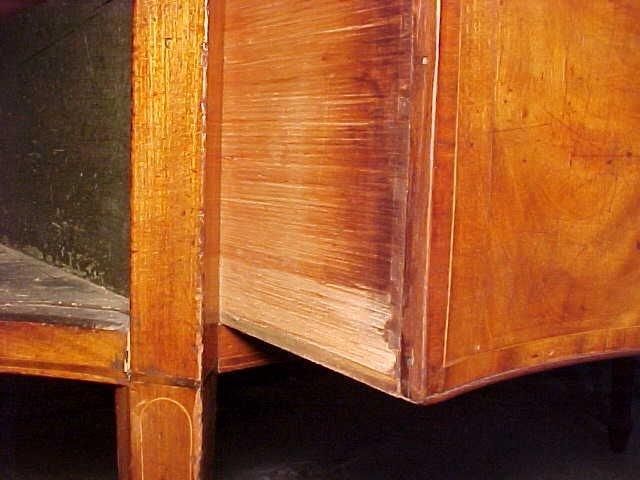 115: Period inlaid Hepplewhite sideboard - 7