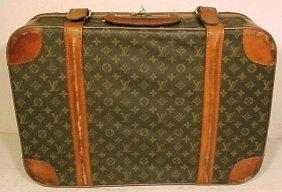 117: Louis Vuitton soft case suitcase