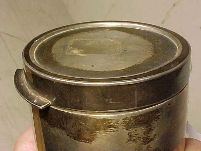 123: Sigvard Bernadotte /Georg Jensen sterling canister - 5