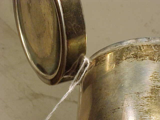 123: Sigvard Bernadotte /Georg Jensen sterling canister - 7