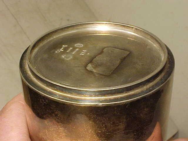 123: Sigvard Bernadotte /Georg Jensen sterling canister - 8