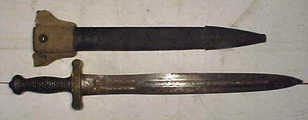 127: NP Ames Springfield double edge sword. - 2