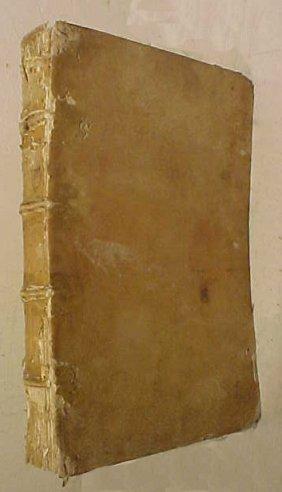 1588 Italian Book By Johannes Petri Bimii