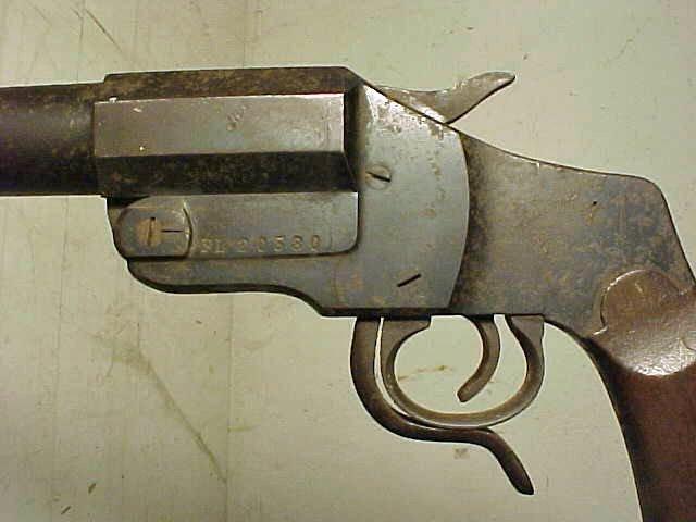 149: WWI German Hebel flare pistol, model M1894 - 2