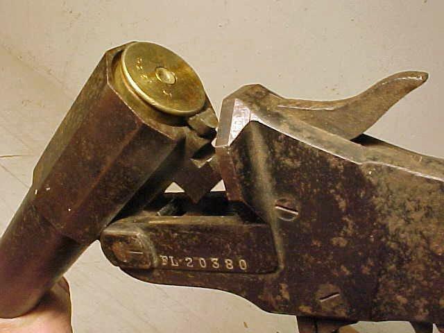 149: WWI German Hebel flare pistol, model M1894 - 4