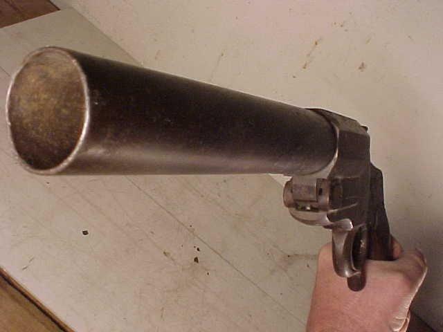 149: WWI German Hebel flare pistol, model M1894 - 7