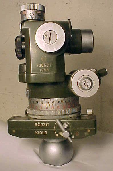 5: Hungarian aiming circle, 1953 model